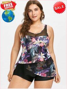 e932aceed2f Best Prices Plus Size Flamingo Flower Tulip Tankini Set 2229097  95AvLhiazp3qtXcB7MwQ Cheap Sale  RoseGal.
