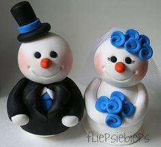 Winter wedding.