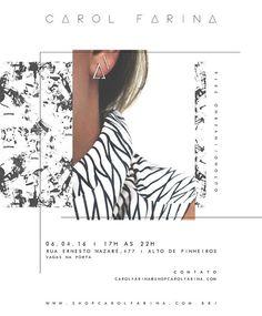 collection lauch, new collection, coleção, lançamento da coleção, nova, nova coleção, black and white, carol farina, save the date,  shopcarolfarina.com.br