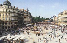 Montpellier - Plaza de la Comedia - que visitar