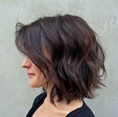 collarbone wavy bob - Google Search