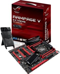 Asus muestra su Rampage V Extreme X99 - http://hardware.tecnogaming.com/2014/08/asus-muestra-su-rampage-v-extreme-x99/