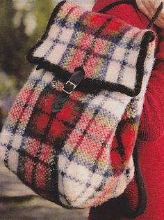 Ravelry: Macduff - tartan bag pattern by Judy Furlong