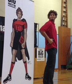 Trail Blazer Robin Lopez kicked off a literacy campaign by visiting Chief Joseph Public School in Portland, Oregon. Lopez, who spent two years at Stanford University before entering the NBA draft, told students he credits his mother with instilling a love of reading into his early life. (I knew I liked that guy!)