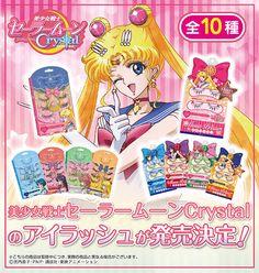 """""""sailor moon"""" """"sailor moon merchandise"""" """"sailor moon crystal"""" """"sailor moon toys"""" """"sailor moon makeup"""" """"false eyelashes"""" cosmetics eyelash anime japan fashion shop 2015"""