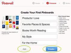 Pinterest es un tablero con imágenes y videos para compartir y organizar las cosas que te gustan. Puedes conectar tu cuenta en Facebook o Twitter con Pinterest para compartir con tus amigos y seguidores las imágenes y videos que te gustan, interesan o que simplemente te inspiran.  En este guía aprenderás cómo abrir una cuenta en Pinterest y conocerás los pasos para crear tus tableros con imágenes y poder compartirlos con tus amigos.: Crea tus propios tableros