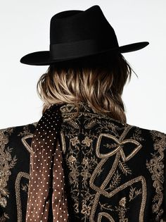 SAINT LAURENT IMPERIAL COUTURE EMBROIDERED COAT.