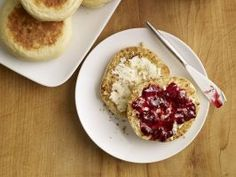 """: <p>""""I first had homemade English muffins at a hotelin Cincinnati. They were so heavenly, I had to figure out how to re-create them at home,"""" explains Damaris.</p>  <p></p>  <p><b>Photographs by Penny De Los Santos.</b></p>"""