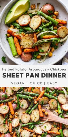 Tasty Vegetarian Recipes, Healthy Recipes, Vegan Dinner Recipes, Vegan Dinners, Whole Food Recipes, Cooking Recipes, Vegan Recipes With Potatoes, Vegan Quick Dinner, Easy Vegan Food