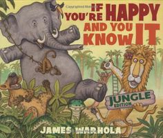 If You're Happy And You Know It by James Warhola http://www.amazon.com/dp/0439727669/ref=cm_sw_r_pi_dp_Q3gdvb0FF7PBA