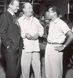 Rod, Ed Wynn and Murray Hamilton on the set of One for the Angels.