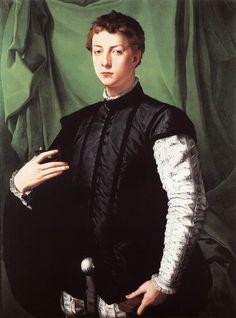 Agnolo Bronzino. Portrait of Ludovico Capponi, 1551