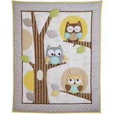 Child of Mine by Carter's Treetop Friends 3-Piece Crib Bedding Set: Bedding & Decor : Walmart.com