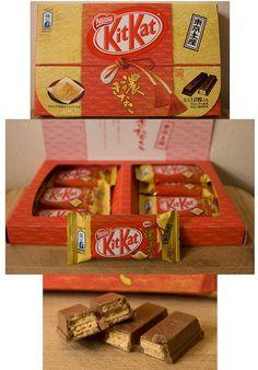 Intense Roast Soybean flavour Kit Kat. Koi-Kinako (Tokyo Regional Limited Edition) Japan by kalvin1974, via Flickr