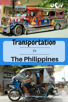 Transportation in The Philippines can be easy with this guide to all of the different ways of getting around. Trikes, Jeepneys, Buses and more! Travel Advice, Travel Guides, Travel Tips, Vietnam Travel, Asia Travel, Jeepney, Worldwide Travel, Philippines Travel, Hotel Reviews