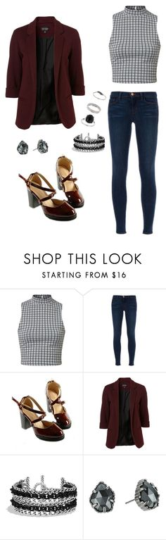 """Fall Break"" by rebellious-ingenue ❤ liked on Polyvore featuring J Brand, David Yurman, Kendra Scott and Miss Selfridge"