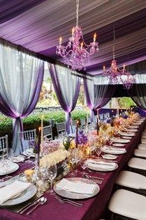 Beautiful Jewel Tones - For more ideas and inspiration like this, check out our website at www.theweddingbelle.net