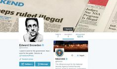Sometime between joining Twitter and sending his first tweet, NSA  whistleblower Edward Snowden forgot to check his notification settings.
