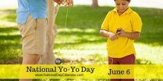 National Yo-Yo Day June 6