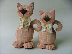 gatos-tecido