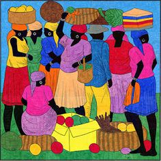 Love the colors, love the Haitian people!