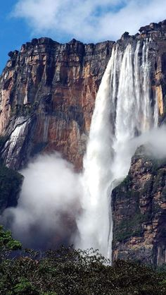 Beautiful waterfall, Venezuela