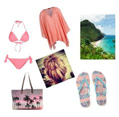 """Hawai"" by dreamsweet98 ❤ liked on Polyvore featuring Only Play, Samudra, Havaianas and Missoni Mare"