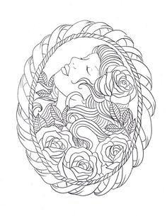 Frame tattoo design by *Nevermore-Ink on deviantART