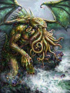 Google Deep Dream Cthulhu