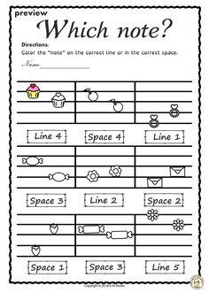 #elmused  #music #musicworksheets #musiceducation # linespace #highlow # Valentine'sday #AMStudio