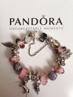 Bracelet Pandora Rose/Argent Bijoux et charms Pandora à retrouver sur www.bijoux-et-charms.fr
