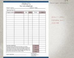 floral invoice template receipt template format photoshop | focus, Invoice templates