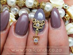Gorgeous nail art charms available on our website www.nailcandi.co.za  The ONLY reusable nail art available!  #3DNailArt #NailArtCharms