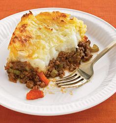 Shepherd's Pie - Add spinach or peas to the potatoes for St Patricks Day