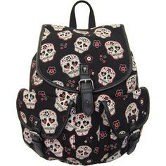 Banned Apparel - Sugar Skull Backpack