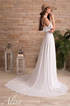 Marion wedding dress Alisa fashion designer collection Boho Dream to by at www.alisa.fr