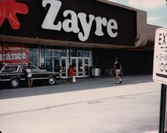 Zayre--there was one up on the hill above the Eastwood Mall.