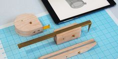 Wooden Measuring Tools Transfer Data Directly to Your Computer