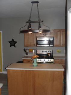 Kitchen paint color - Valspar Rocky Bluffs