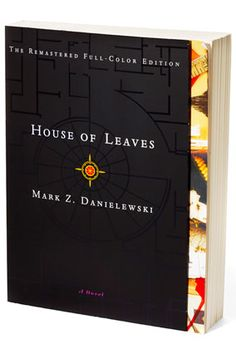 """""""House of Leaves, by Mark Z. Danielewski. I still haven't finished it because it scares the crap out of me. I put it in the freezer at night."""""""