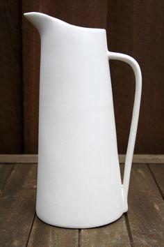 Vintage Malcom Leland Pitcher Ceramic Tableware Pottery Kitchenware