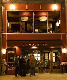 Candle 79 in NYC via T& L's Best Vegetarian Restaurants in the U.S.