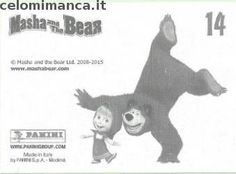 Masha and the bear - Masha e Orso: Retro Figurina n. 14 Orsa
