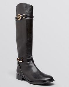COACH Eva Tall Narrow Calf Riding Boots. THESE HAVE A 12.9 boot ...