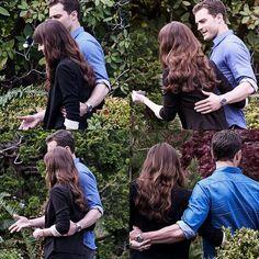 """Vazam imagens de Anastasia e Christian Grey em """"Cinquenta Tons de Liberdade"""""""