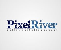 Pixel River | Featured Logo Design | logobids.com | #logo #design