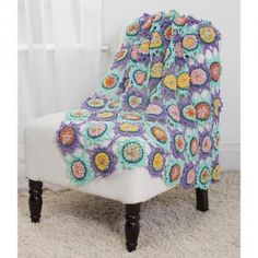 Free Crochet Pattern: Bubble Center Afghan | Make It Crochet