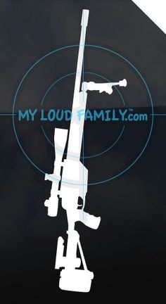 SSG 550 Sniper Decal Sticker