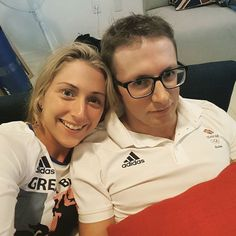 Going for Gold Laura Trott & Jason Kenny #TeamGB ......#Rio2016