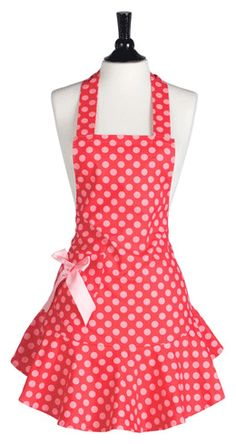 C.U.T.E. I have been dying to have an apron but haven't found one that i really really like, and this is it!